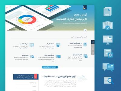 Sarava Usability Report Landing Page