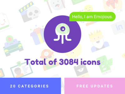 Emojious - icons with a smile