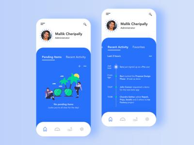 Project Management App - Exploration