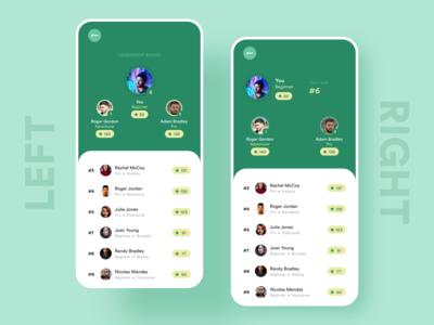 Travel App - Leadership Board Exploration