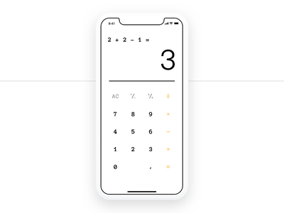 DailyUI Day 4 Quick Mafs Calculator big shaq calculator app design 004 app concept dailyui