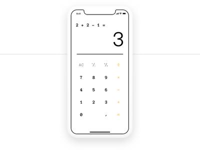 DailyUI Day 4 Quick Mafs Calculator big shaq calculator app design 004 app concept dailyui