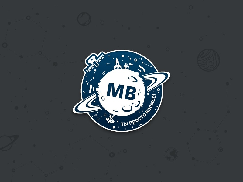 Space Pin flat icon design poligraphy branding vector illustration