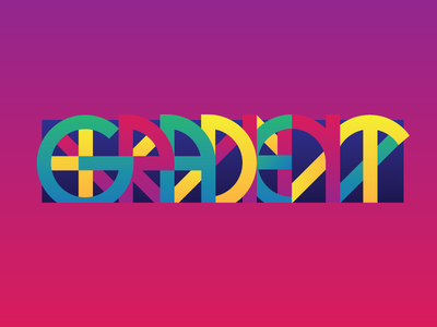 Gradient gradient triad