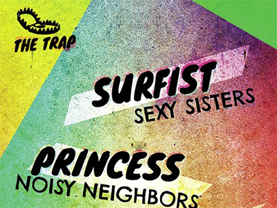 The Trap music show colorful surfist princess trap hidden bakery