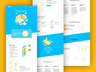 New Okay Landing Page landing page finance business finance app design client branding app