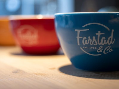 Mugs | Farstad & Co mugs coffee branding coffee brand coffee packaging coffee beans coffeeshop coffee shop skien norway