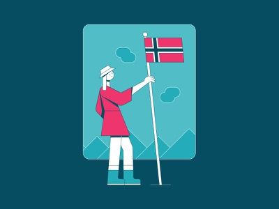New to Norway | NNG Illustration abstract geometric illustration new normal values playbook company playbook illustration diversity new normal norway new normal group nng