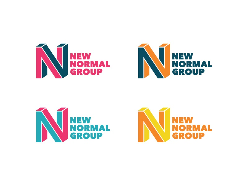 New Normal Group Logo Color Variations By Snowball Digital On