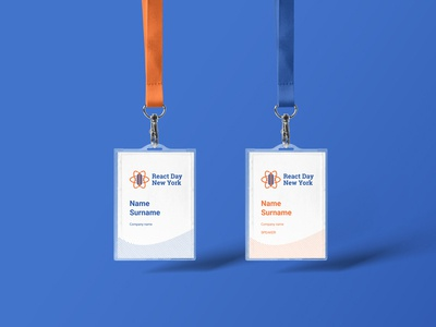 React New York | Name Badges