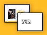 Farstad & Co. Landing Page
