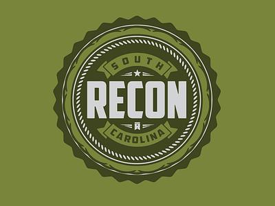 Recon SC veterans logo badge south carolina recon