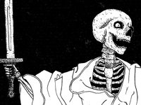 Cloaked Skeleton