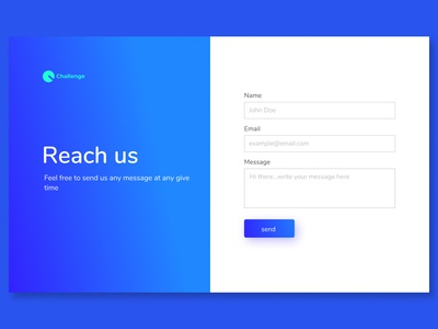 Daily UI | 01 Contact Form