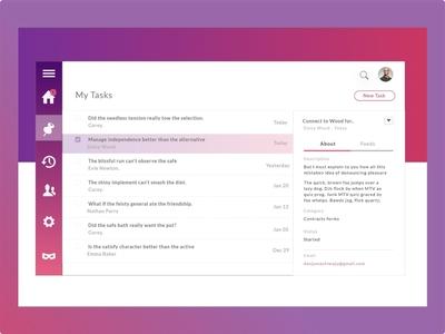 Task View Gradient Color