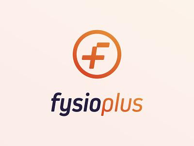 Fysioplus - Logo Design logo design logomark logodesign gradient logo gradient physiotherapist physiotherapy branding logo