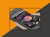 Instagram info poster