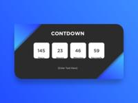 Daily UI Challenge #014 [Countdown]