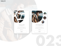 Daily UI Challenge #23 [Onboarding]