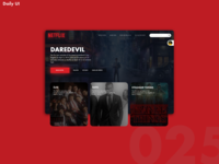 Daily UI Challenge #025 [TV App]