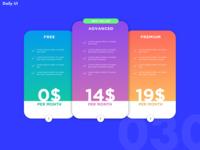 Daily UI Challenge 030   PRICE