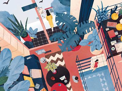 Dream Making Space branding lifestyle shanghai illustration