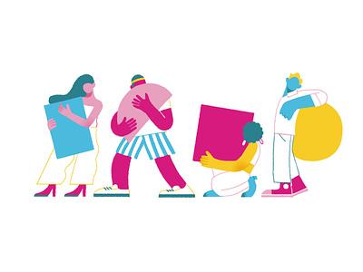 icons for ISHO uk branding shanghai icon lifestyle illustration