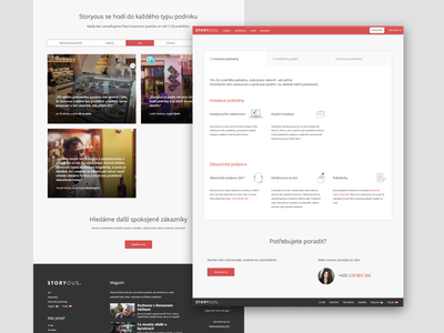 Storyous  - features and reference website ui business reference feature page landingpage landing web meal restaurant coffee sell money cash register cash food bistro pos