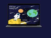 404 Error Page Ui
