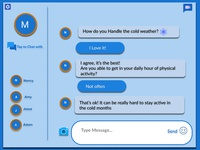 Direct Messaging chatbox
