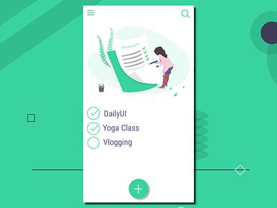 #042  ToDo List to do list ui ux design app concept app ui 100day ui  ux ux  ui ux design ui 100 ui  ux design dailyui daily 100 challenge ux ui design