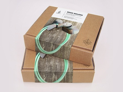 Pearhut Packaging Mock packaging craft box belly band