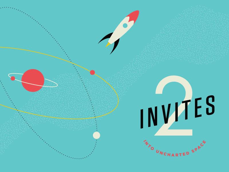 2 Dribbble Invites invites dribbble