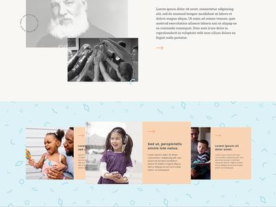 Web Desgin animation sliders clean web design