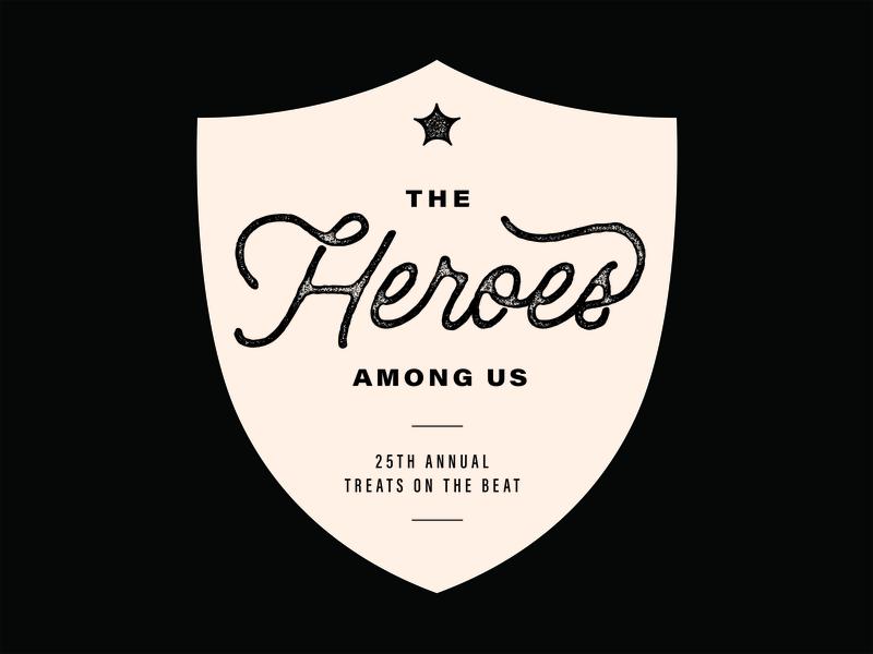 Shield Hero typography shield