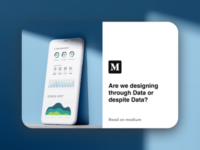 Are we designing through Data or despite Data illustration workflow bias data cover medium medium article