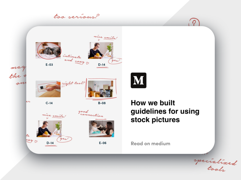 How we built guidelines for using stock pictures guidelines stock photography cover illustration medium article medium