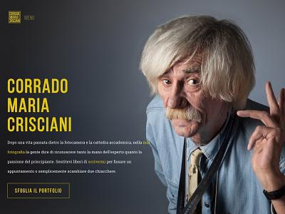 Cmc tbt throwback corradomariacrisciani yellow photographer photo background photo portfolio homepage
