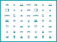 Rahat Tasin furniture Icons