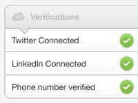 Verifications