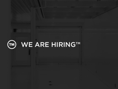 WE ARE HIRING™