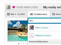 Airbnb Wish List