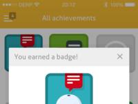 Badge full pixels