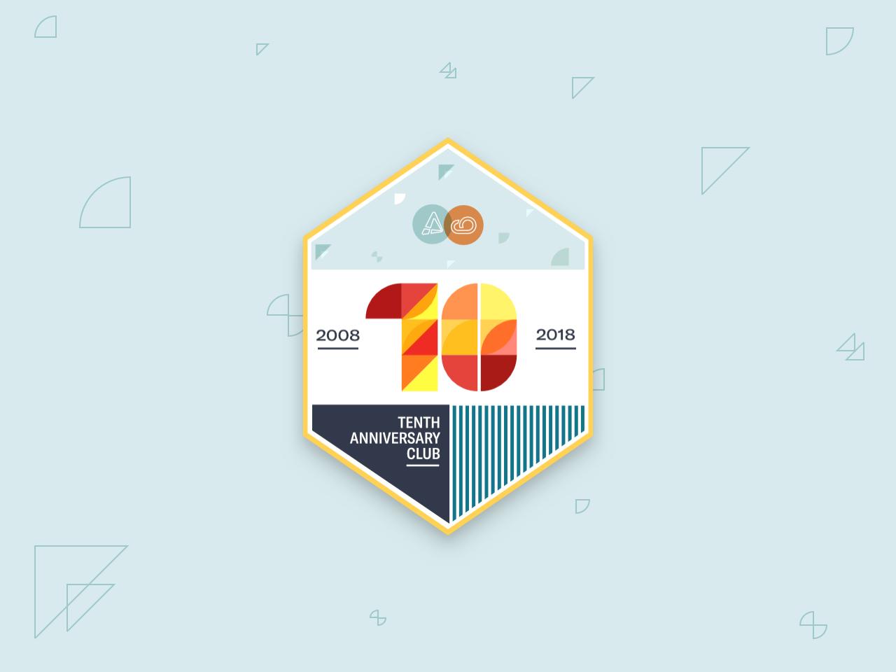 Another Badge Bites The Dust sticker badge popart memphis geometric design geometric typography illustration