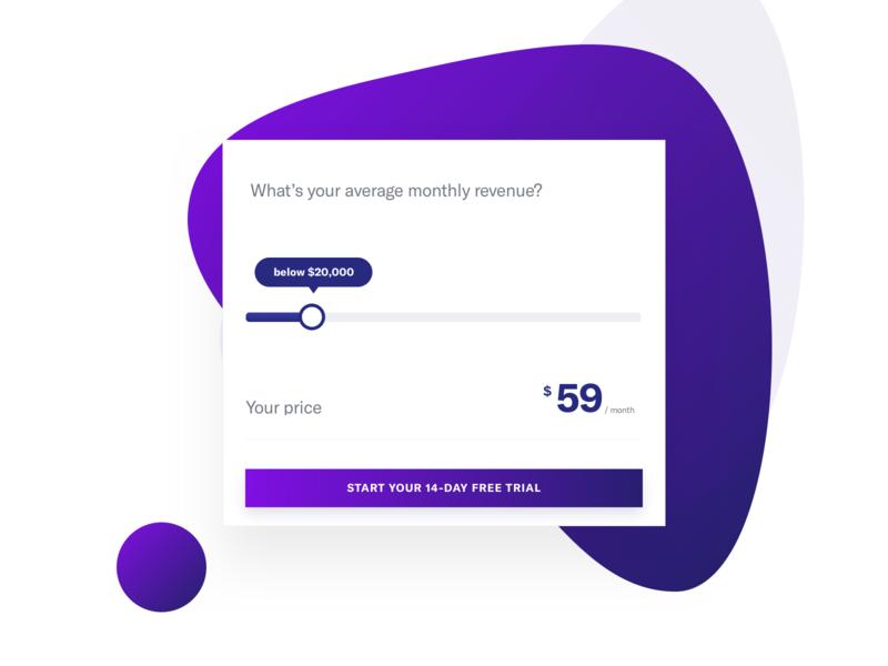 pricing calculator by mariusz ciesla dribbble dribbble