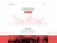 TRUG | Website UI & Logo