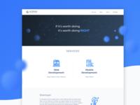 Alterans Technologies | Branding & UI Design