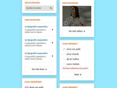 Intranet details 2 ui ux web design user interface clean dashboard intranet