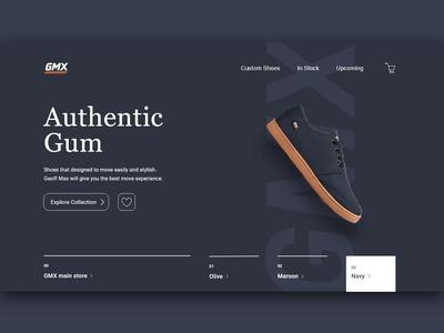 Shoes Brand Website