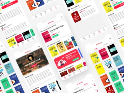 Redesign: iBI Library App